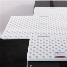 Up to 3 surgical pegboards allow for modular capabilities.